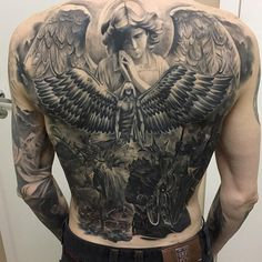 Discover recipes, home ideas, style inspiration and other ideas to try. Backpiece Tattoo, Skull Tattoos, Black Tattoos, Sleeve Tattoos, Back Tattoos For Guys, Full Back Tattoos, Cover Up Tattoos, Stomach Tattoos, Body Art Tattoos