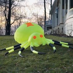 Neon Inflatable Giant Spider