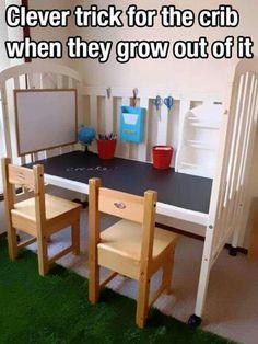 Toddler mom transform that crib ....BIG BOYS AND GIRLS