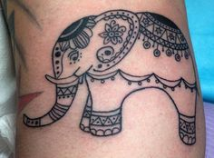 Elephant Tattoo by Erin Cruse  @ Charmed Life Tattoo in Lexington, KY