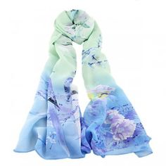 Elegant Autumn and Winter Long Scarves for Women