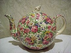 Vintage Royal Winton Summertime Chintz Teapot