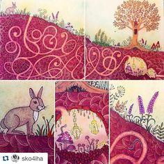 Rabbit hole enchanted forest