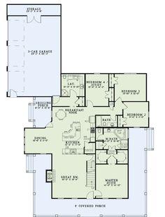 Delightful Love The Huge Kitchen Island   Dream Home   Pinterest   Haus Pläne Und  Häuschen