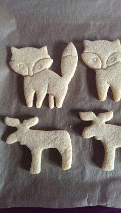 Süsse Füchse und Elche #cookies