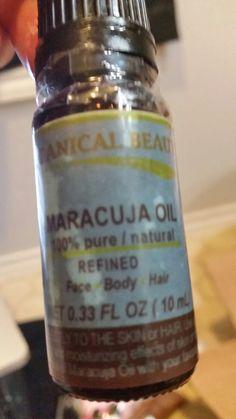 Maracuja Oil (For hair/face/nails/skin)