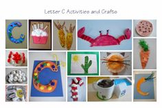letter C activities and crafts