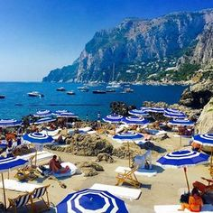 "Relax: La Fontelina - Via Faraglioni, 80073, Capri This is the most beautiful location for sunbathing. Dolce & Gabbana hosted their ""Alta Moda"" show here last year—it has real La Dolce Vita feel. You have to catch the boat from Marina Piccola, but it's worth it for the seafood alone."