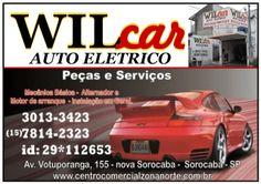 JORNAL AÇÃO POLICIAL SOROCABA E REGIÃO ONLINE: WilCar Auto Elétrico Peças e Serviços Av. Votupora...