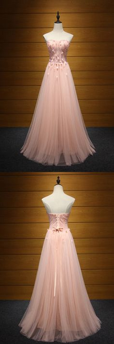 Only $189, Fitted Peach Pink Long Formal Dress Tulle Beaded With Florals For Women #AKE18153 at #SheProm. SheProm is an online store with thousands of dresses, range from Prom,Homecoming,Formal,Evening,Graduation,Pink,A Line Dresses,Long Dresses,Customizable Dresses and so on. Not only selling formal dresses, more and more trendy dress styles will be updated daily to our store. With low price and high quality guaranteed, you will definitely like shopping from us. Shop now!