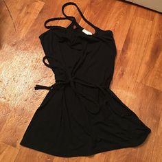 SALE! Forever 21 Braided Black Dress Lightly worn, light weight summer dress. Medium, but a little short! Forever 21 Dresses Mini