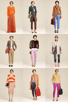 yellow yellow: J.CREW Winter 2011 J Crew Outfits, Neon Outfits, Pretty Outfits, Fall Outfits, Fashion Outfits, J Crew Style, My Style, Weekly Outfits, Layering Outfits