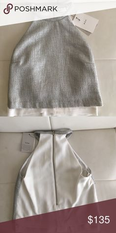 """Silky and Metallic A.L.C top Perfect condition. Never been worn. Tags still on. This is definitely for an XS. I spent over 300 on the shirt but am open to offers. The brand is ALC but put SCF for exposure. .                   -NO TRADES -I only consider offers through the offer button -Open to reasonable offers unless stated """"firm price"""". -Feel free to ask me as many questions as necessary (I get it) 😎.  💥⚡️Bundle & Save ⚡️💥 A.L.C. Tops"""