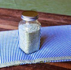 Homemade Herb Blend Salt