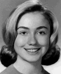 Long before she was Secretary of State Hillary Clinton.