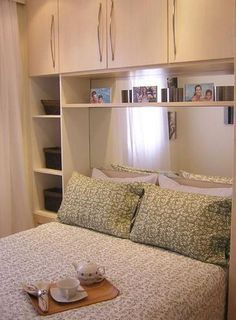 Forma Expressa   Truques para o pequeno quarto de casal com guarda-roupa. (Parte 2)
