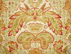 Brunschwig Fils Tamerlane Printed Cotton New 1 Yd | eBay