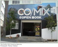 The inaugural Open Book Co/Mix 2012 in Cape Town. Book Festival, Open Book, Cape Town, Illustrators, African, Events, Cartoon, Comics, Classic