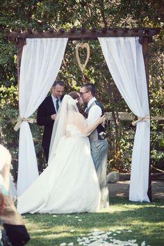 Outdoor Orange County California Wedding