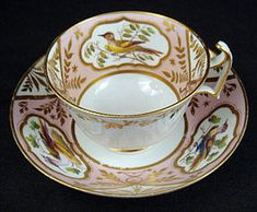Antique Spode Ornithological Tea Cup & Saucer China Cups And Saucers, Teapots And Cups, Teacups, Antique Tea Cups, Afternoon Tea Parties, Vintage Tea, Vintage China, Tea Art, My Cup Of Tea