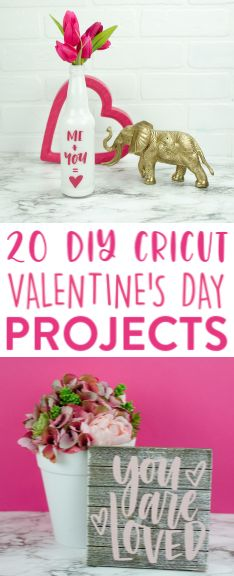 If you have a Cricut, you're definitely going to want to check out these DIY Cricut Valentines Day Projects I've rounded up. So many fun ideas! #cricut #diecutting #diecuttingmachine #cricutmachine #cricutmaker #diycricut #cricutideas #cutfiles #svgfiles #diecutfiles #diycricutprojects #cricutprojects #cricutcraftideas #diycricutideas #valentine #valentinesday