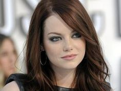emma stone/there is something about her I love. Maybe it is her unconventional beauty.
