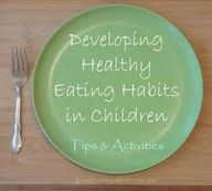 I like this site, it also includes activities from choosemyplate.gov and the USDAs list for changing negative phrases about food into positive phrases.  Even as an adult I needed to read these suggestions for my own eating habits.