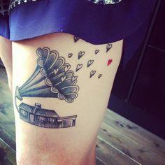 Home & Music #tatoo #ink