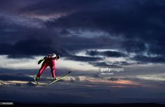 Piotr Zyla of Poland competes during the Men's Team HS134 Large Hill Ski Jumping during the FIS Nordic World Ski Championships at the Lugnet venue on February 28, 2015 in Falun, Sweden.
