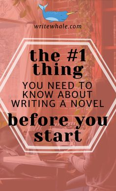 Click through to learn the most important bit of advice that all writers should know before they start writing a novel. Writing advice | get help writing a book | write a novel | writing a first draft | write a story | Creative writing