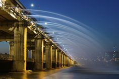 10Best: Beautiful Bridges: Slideshows Photo Gallery by 10Best.com - Banpo Bridge, Seoul