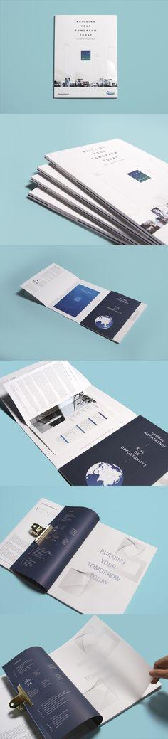 Doosan Infracore Integrated Report 2014 on Behance Book Design Layout, Print Layout, Album Design, Art Design, Cover Design, Graphic Design, Portfolio Layout, Portfolio Design, Editorial Layout