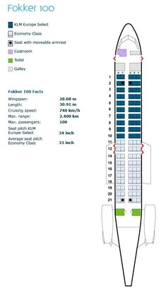 Klm Royal Dutch Airlines Airbus A330 200 Aircraft Seating