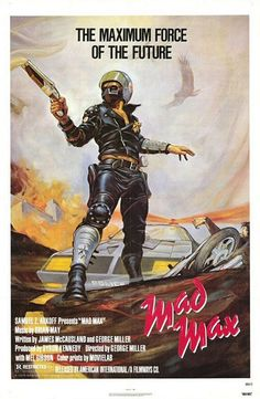 MAD MAX (1979) Theatrical Poster by Frank Frazetta.