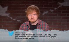 OH Mean Tweets. Don't listen ed