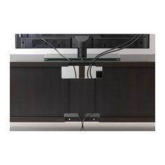 BESTÅ TV unit - black-brown - IKEA