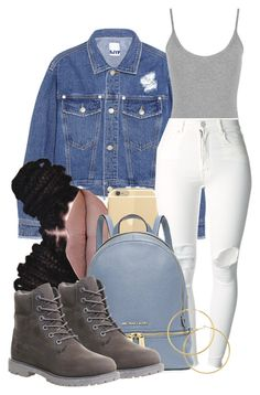 """""""Untitled #521"""" by b-elkstone ❤ liked on Polyvore featuring Steve J & Yoni P, WearAll, (+) PEOPLE, Michael Kors, Melissa Odabash, Timberland, women's clothing, women, female and woman"""