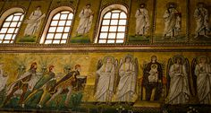 "Sant'Apollinare, Ravenna - ""The immaculate bursting mosaics of Ravenna"" by @Kate McCulley"