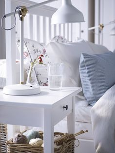 Affordable living with HEMNES bedframe | IKEA