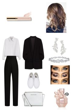A fashion look from October 2016 featuring cropped shirts, blazer jacket and high-waisted pants. Browse and shop related looks. Harry Winston, Viktor Rolf, Yohji Yamamoto, Crop Shirt, Lanvin, Blazer Jacket, Polyvore Fashion, Kate Spade, Vans