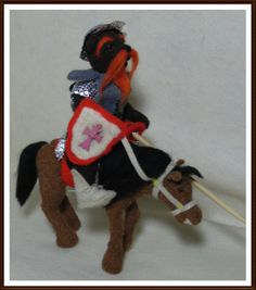 "Aktion KunstRaub Nr.11: GotikART * ""Don Quijote""* von katy-bears auf DaWanda.com"