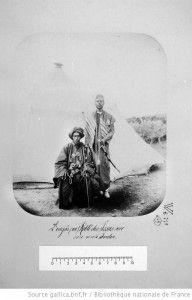L'ougâs, roi, Roblé des Issas avec son neveu, Jardon
