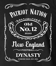 PATRIOT NATION New England Patriots T-Shirt Limited Edition Brady Belichick