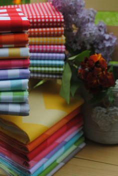 Riley Blake Designs Gingham and Chevron #rileyblakedesigns #gingham #chevron