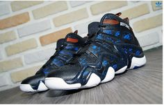 reputable site c8c3b 0897f ADIDAS CRAZY 8 NEW YORK KNICKS BLACK BLUE ORANGE S83937 125