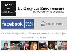 Le Gang des entrepreneurs est un blog sur la vraie vie des entrepreneurs en France et les news du domaine