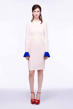 Roksanda Pre-Fall 2012 Fashion Show - Tali Lennox