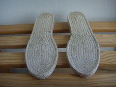 espadrille jute soles  flat heel  32 to 40 European von contexto, $10,00