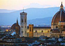 4 nap/3 éj 2 főre reggelivel, repülőjeggyel, illetékkel, 3*-os, városhoz közeli szállással Firenzében
