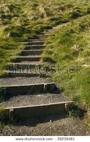 steps hillside landscaping - Google Search
